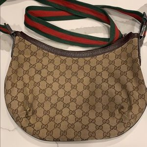 Gucci crossbody bag.